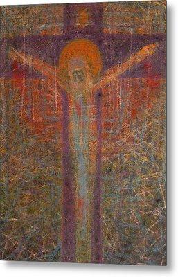 The Redeemer Metal Print by Adel Nemeth