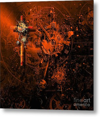 The Redemption Of The Technical And Digital World Metal Print
