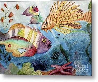 The Reef Metal Print by Mohamed Hirji