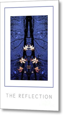 The Reflection Poster Metal Print by Mike Nellums