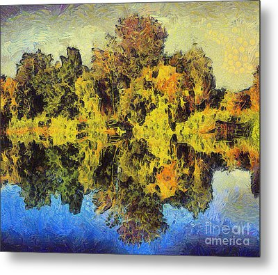 The Reflections Metal Print by Odon Czintos