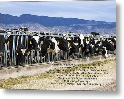 The Rest Is History Metal Print