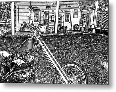 Metal Print featuring the photograph The Rest   by Lesa Fine