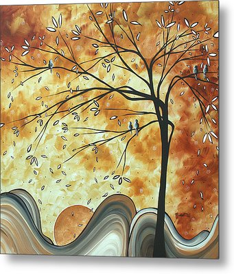 The Resting Place By Madart Metal Print by Megan Duncanson