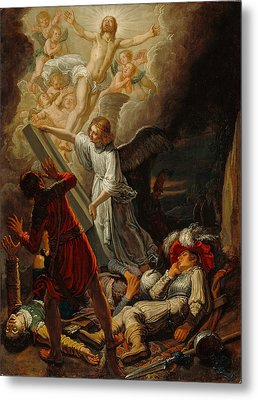 The Resurrection Metal Print by Pieter Lastman