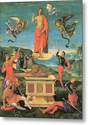 The Resurrrection Of Christ Metal Print by Raphael