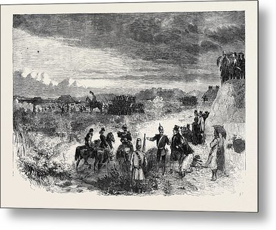 The Review On Saturday Last At Wimbledon Common Skirmishers Metal Print