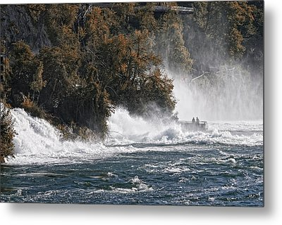 The Rhine Fall Metal Print