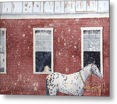 The Ride Home Metal Print by LeAnne Sowa