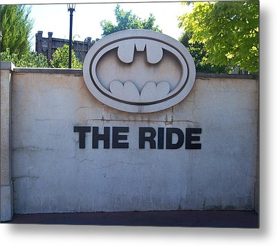 The Ride Metal Print by Kelly Awad