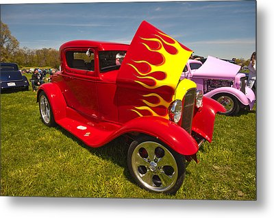 The Ride Metal Print by Terry Cosgrave