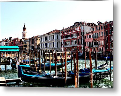 The Ride Venice Italy Metal Print