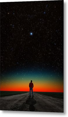 Metal Print featuring the photograph The Right Direction by Larry Landolfi