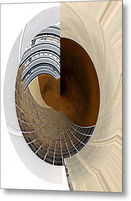 The Right Side Of My Left Brain Metal Print