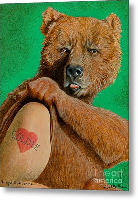 The Right To Bear Arms... Metal Print