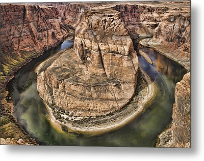The River Did It Metal Print by Heather Applegate
