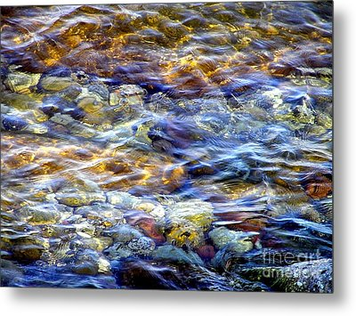 The River Metal Print by Susan  Dimitrakopoulos