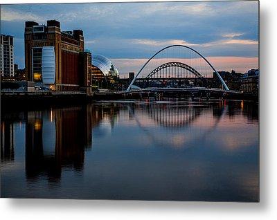 The River Tyne Metal Print