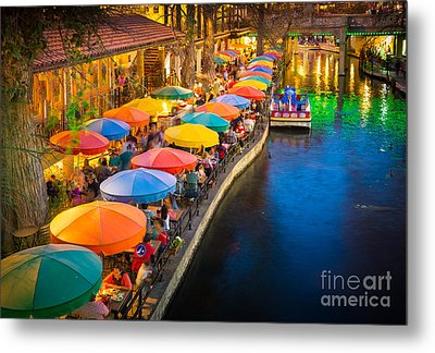 The Riverwalk Metal Print by Inge Johnsson