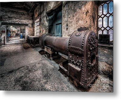 The Riveted Boiler Metal Print
