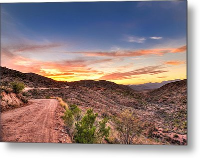 The Road Ahead Metal Print by Anthony Citro