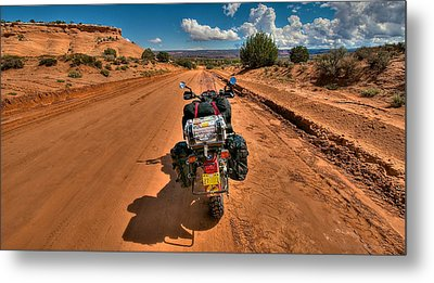 The Road Ahead Metal Print by Britt Runyon