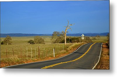 The Road Metal Print by Rima Biswas