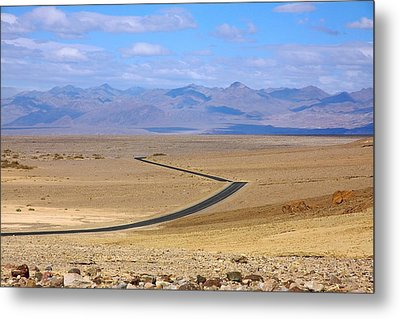 Metal Print featuring the photograph The Road by Stuart Litoff