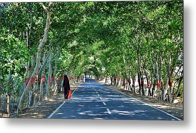 The Road To Amarkantak - Amarkantak India Metal Print by Kim Bemis