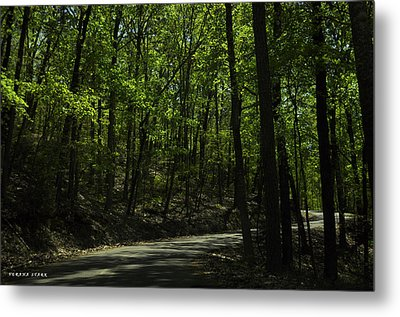 The Roads Of Alabama Metal Print by Verana Stark