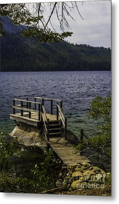 The Rock Dock Metal Print by Mitch Shindelbower