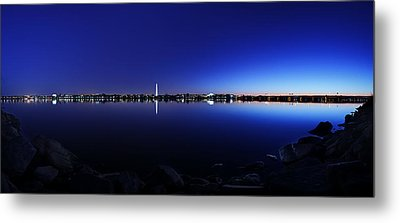 The Rocks Of The Potomac Metal Print by Metro DC Photography