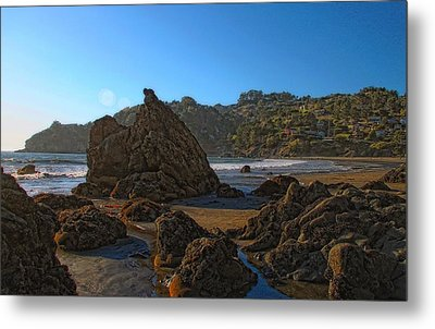 The Rocky Coast Iv Metal Print