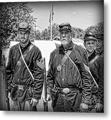 The Rocky Road From Dublin - The Irish Brigade - The Civil War Metal Print by Lee Dos Santos