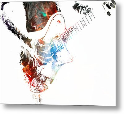 The Roll Of Rock  Metal Print by Jerry Cordeiro