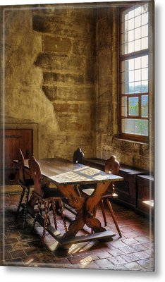 The Room On The Side Metal Print by Joan Carroll