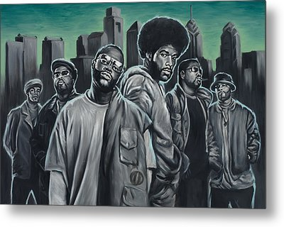 The Roots Metal Print by Travis Knight