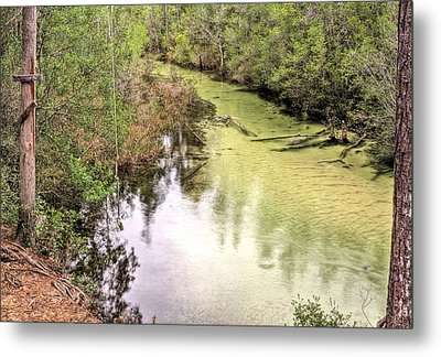 The Rope Swing Metal Print by JC Findley