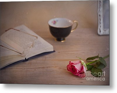 Metal Print featuring the photograph The Rose by Trevor Chriss