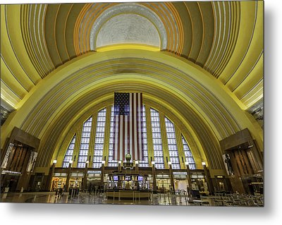 The Rotunda Metal Print