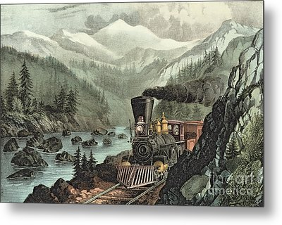 The Route To California Metal Print