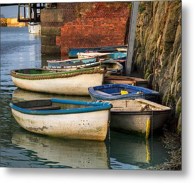 The Rowboats Of Folkestone Metal Print by Tim Stanley