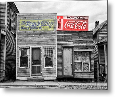 The Royal Club Metal Print by Bill Cannon