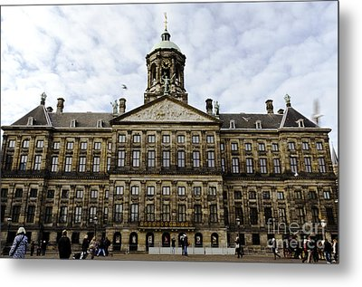 The Royal Palace Metal Print by Pravine Chester