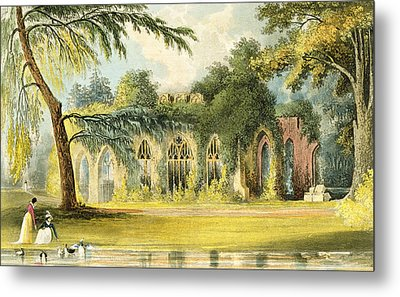 The Ruins   Frogmore Metal Print by John Gendall