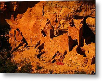 The Ruins In Rock At Mesa Verde Metal Print