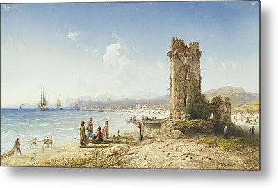 The Ruins Of Chersonesus Crimea Metal Print