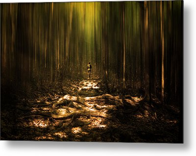The Runner Metal Print by Gary Smith
