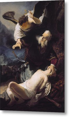 The Sacrifice Of Abraham Metal Print