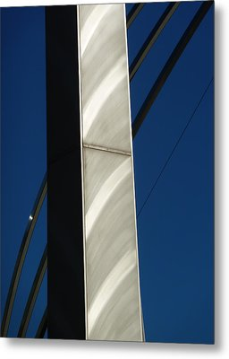 The Sail Sculpture  Metal Print